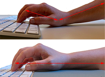 Keyboard Wrist Support