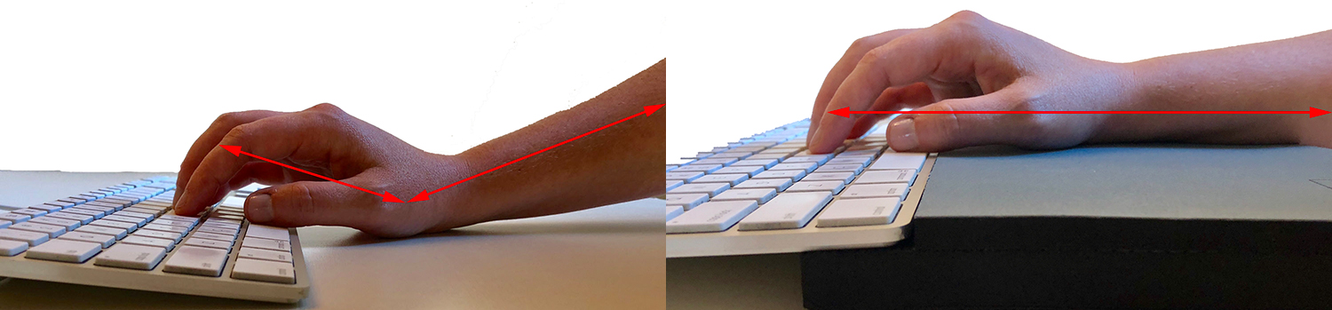 Ergonomic Keyboard Wrist Support